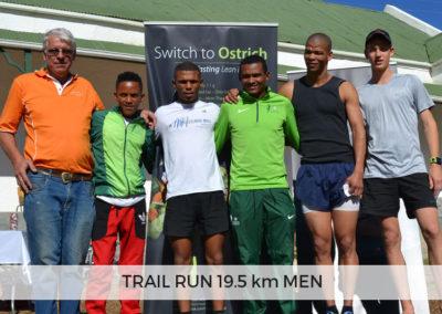 Men Winners of 19.5km
