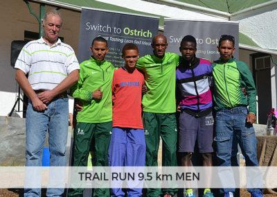 Men Winners of 9.5km