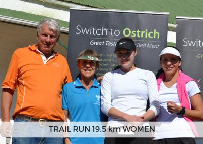 Women Winners of 19.5km