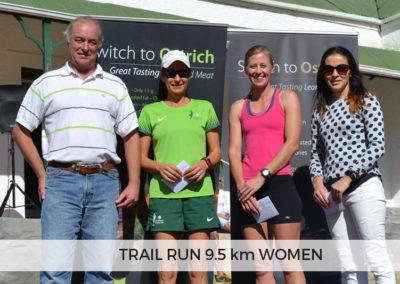 Women Winners of 9.5km
