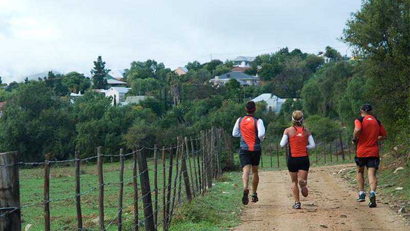 Trail run in 2014