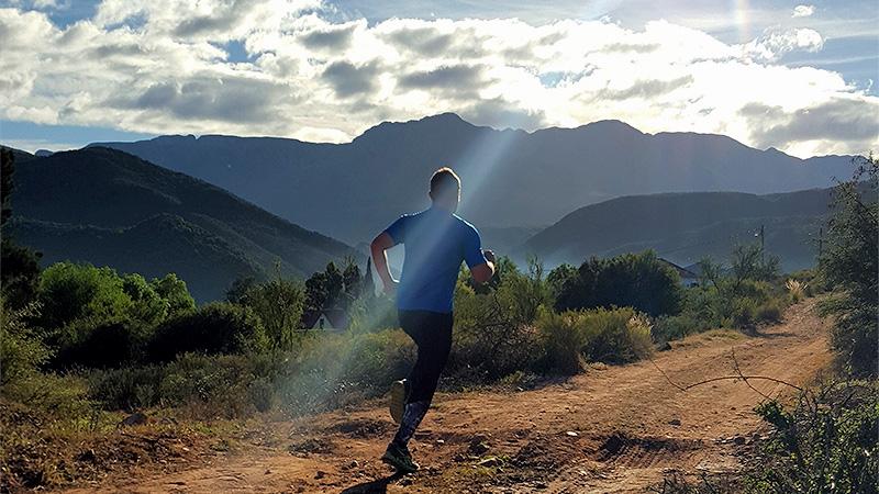 Trail run in 2015