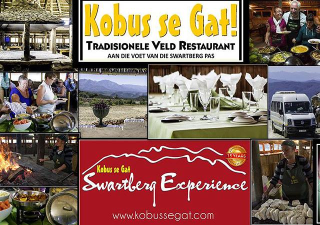 Kobus se Gat Restaurant in Oudtshoorn