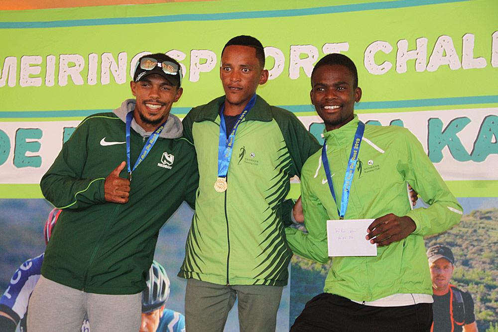 Meiringspoort Challenge Trail Run 20km Winners Men