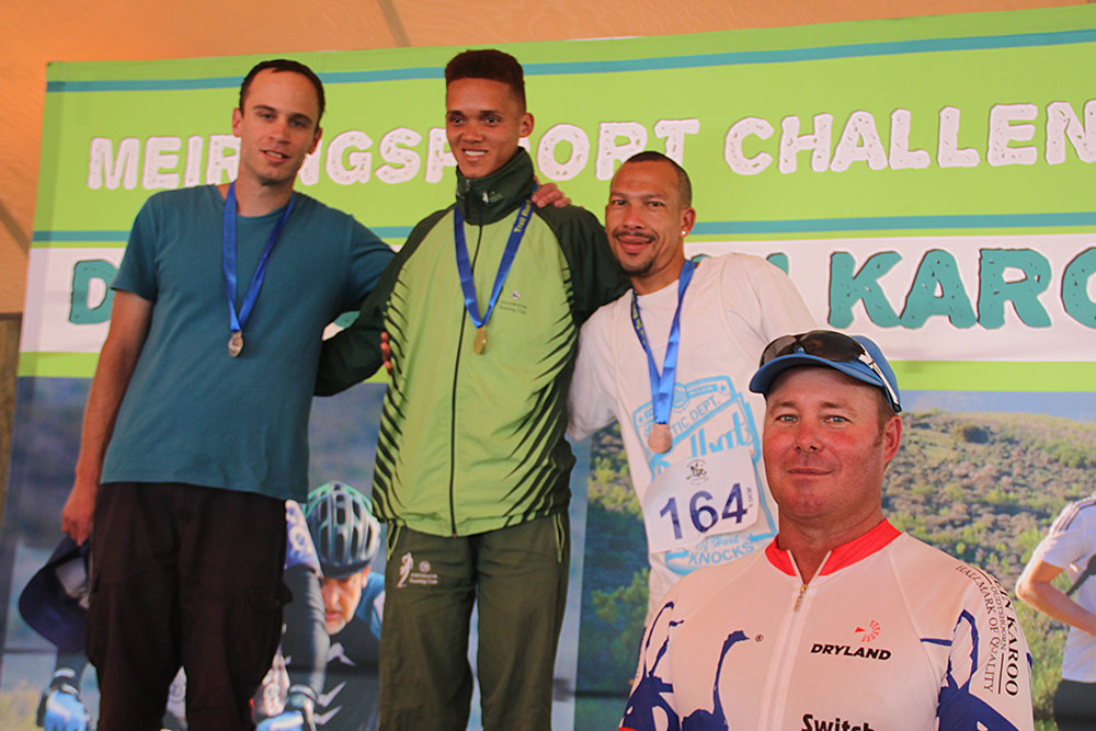Meiringspoort Challenge Trail Run 9.5km Winners Men