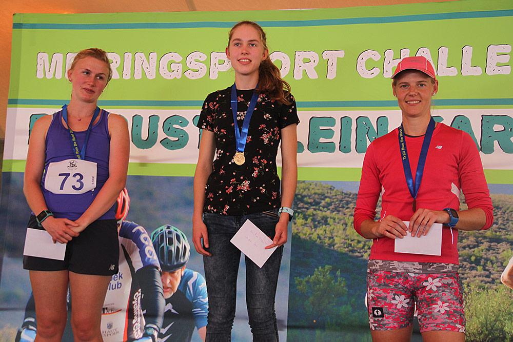 Meiringspoort Challenge Trail Run 9.5km Winners Women