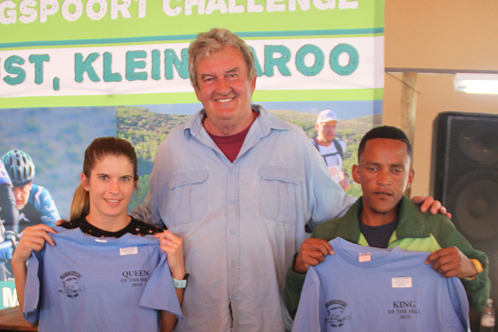 Meiringspoort Challenge Trail Run - King and Queen of the Hill